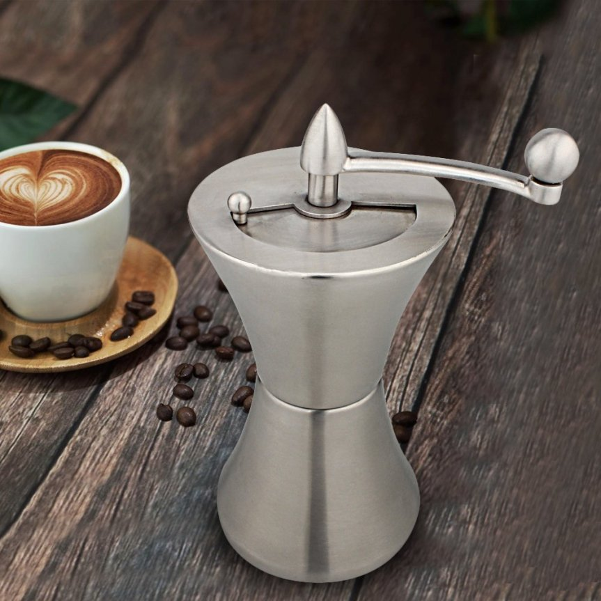 "<a href=""https://www.amazon.com/gp/product/B01MRQN4XT/ref=as_li_tl?ie=UTF8&camp=1789&creative=9325&creativeASIN=B01MRQN4XT&linkCode=as2&tag=go247organicw-20&linkId=de7c3a08f4f1620818431782f4566f11"">Tastmate Portable Manual Coffee Grinder | Stainless Steel Slim Coffee Maker with Grinder | Mini Coffee Grinder(Original)</a>"